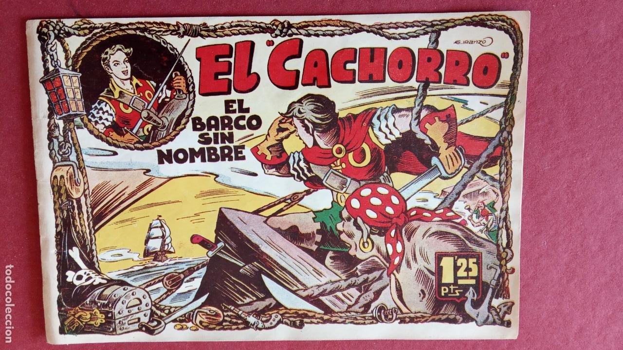 Tebeos: EL CACHORRO ORIGINALES 1951 BRUGUERA - 97 TEBEOS, VER TODAS LAS IMÁGENES DE PORTADAS Y CONTRAS - Foto 35 - 235576300