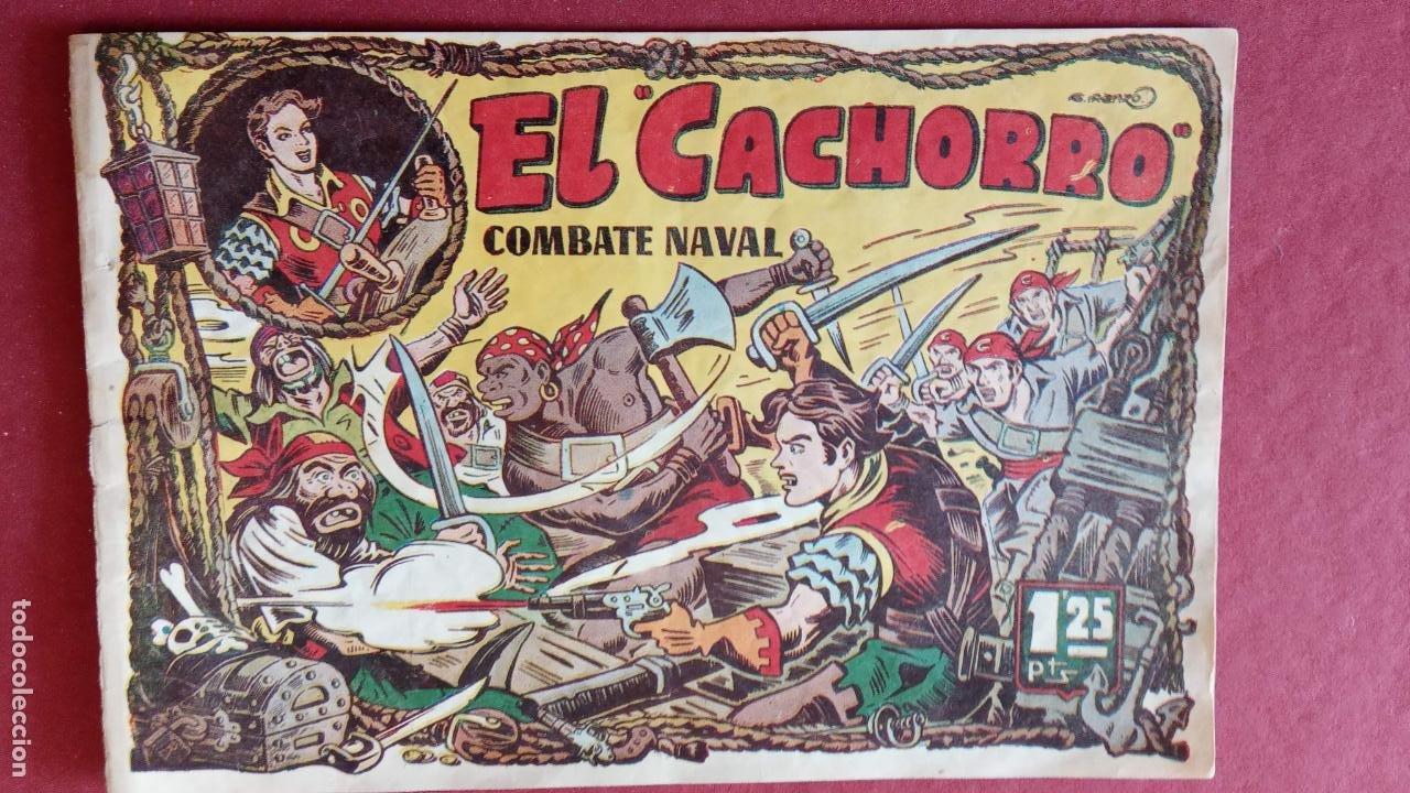 Tebeos: EL CACHORRO ORIGINALES 1951 BRUGUERA - 97 TEBEOS, VER TODAS LAS IMÁGENES DE PORTADAS Y CONTRAS - Foto 36 - 235576300