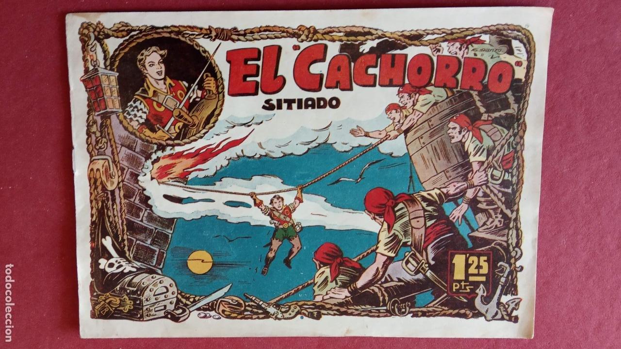 Tebeos: EL CACHORRO ORIGINALES 1951 BRUGUERA - 97 TEBEOS, VER TODAS LAS IMÁGENES DE PORTADAS Y CONTRAS - Foto 37 - 235576300
