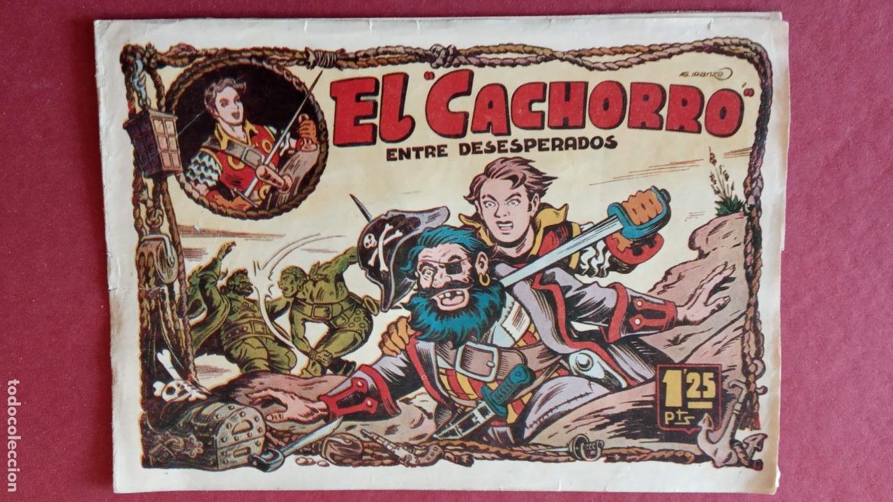 Tebeos: EL CACHORRO ORIGINALES 1951 BRUGUERA - 97 TEBEOS, VER TODAS LAS IMÁGENES DE PORTADAS Y CONTRAS - Foto 38 - 235576300
