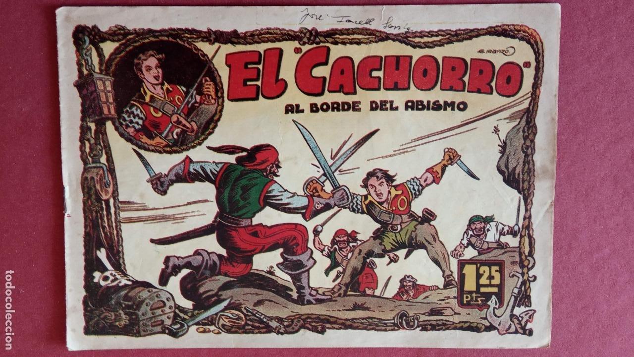 Tebeos: EL CACHORRO ORIGINALES 1951 BRUGUERA - 97 TEBEOS, VER TODAS LAS IMÁGENES DE PORTADAS Y CONTRAS - Foto 39 - 235576300