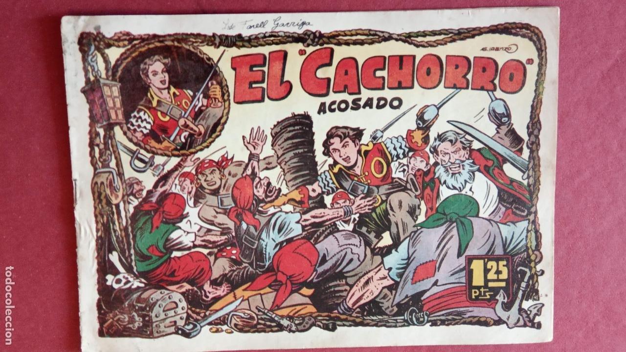 Tebeos: EL CACHORRO ORIGINALES 1951 BRUGUERA - 97 TEBEOS, VER TODAS LAS IMÁGENES DE PORTADAS Y CONTRAS - Foto 40 - 235576300