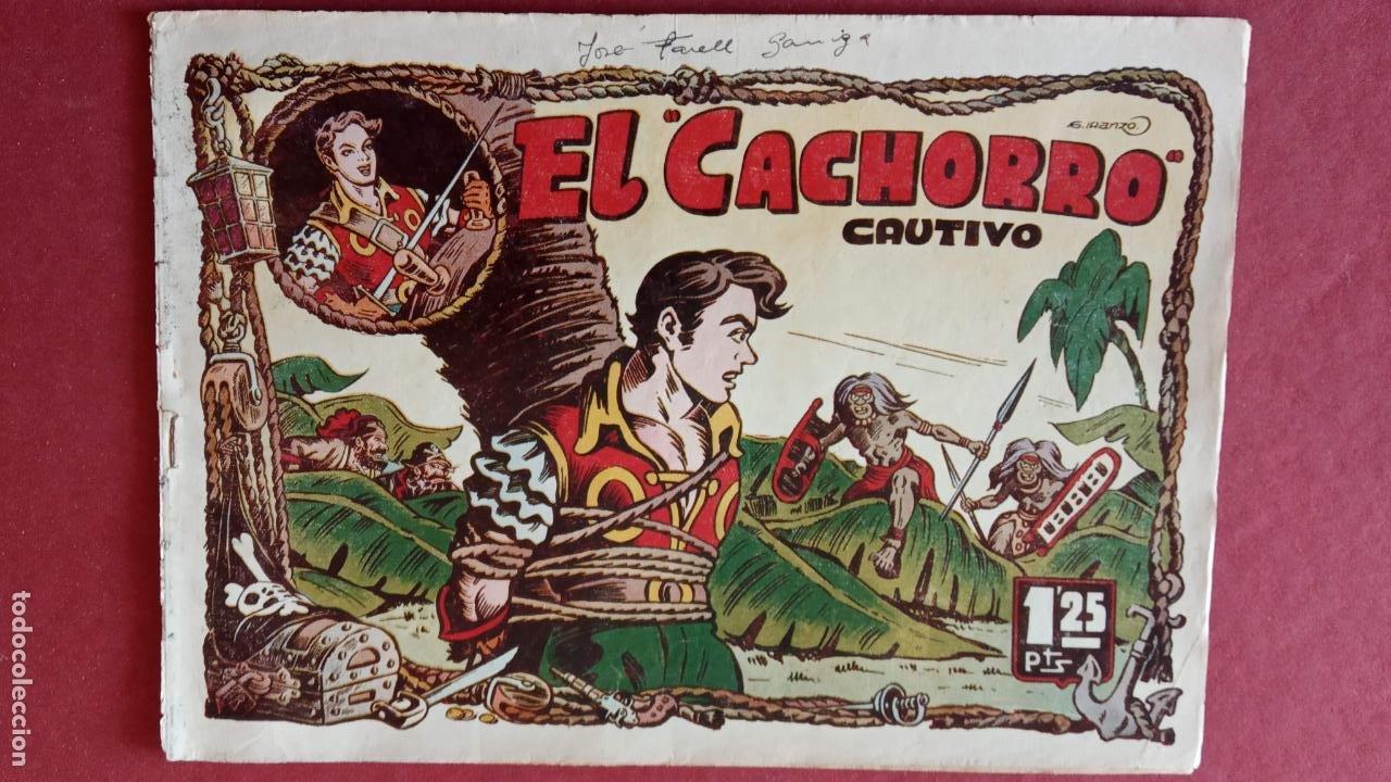 Tebeos: EL CACHORRO ORIGINALES 1951 BRUGUERA - 97 TEBEOS, VER TODAS LAS IMÁGENES DE PORTADAS Y CONTRAS - Foto 41 - 235576300
