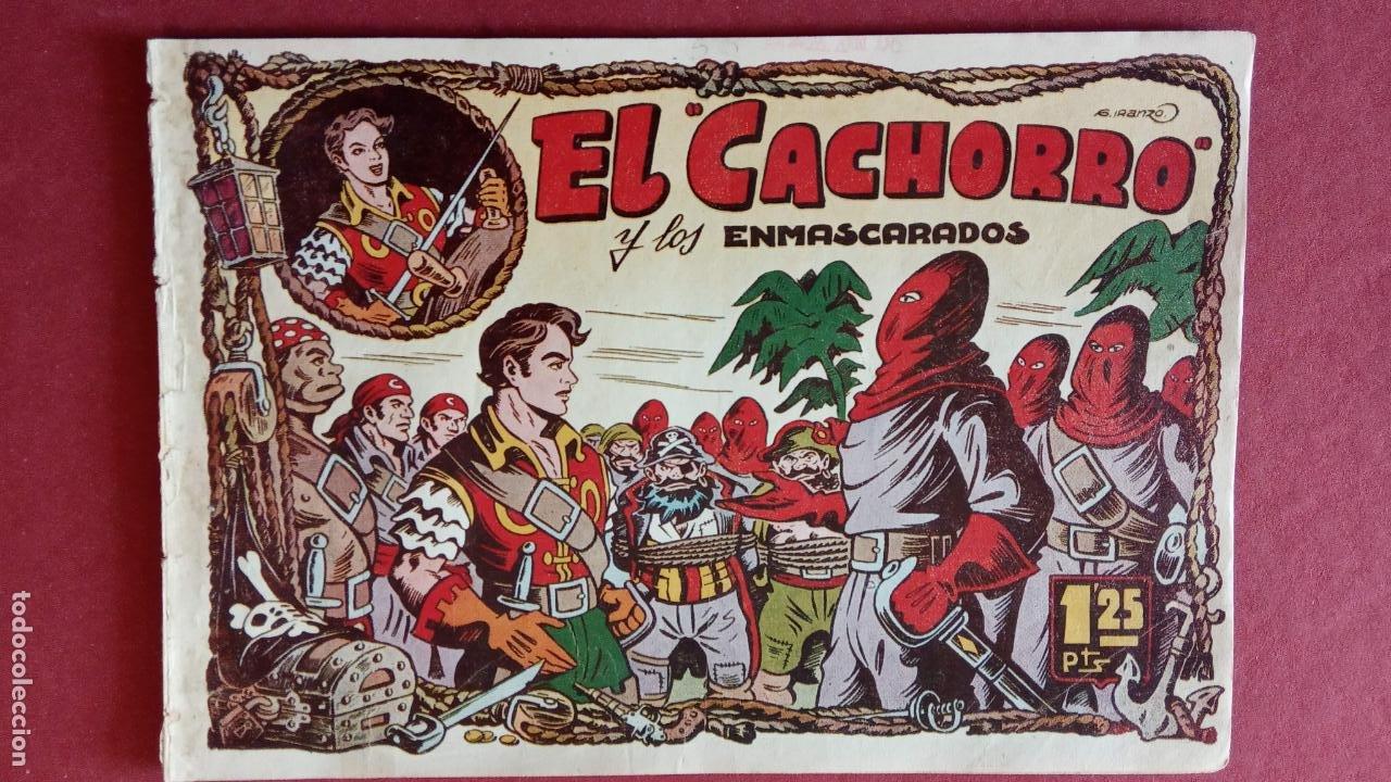 Tebeos: EL CACHORRO ORIGINALES 1951 BRUGUERA - 97 TEBEOS, VER TODAS LAS IMÁGENES DE PORTADAS Y CONTRAS - Foto 42 - 235576300