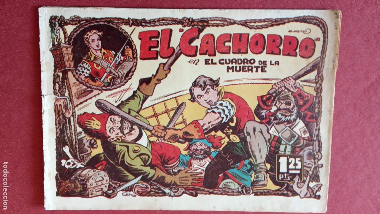 Tebeos: EL CACHORRO ORIGINALES 1951 BRUGUERA - 97 TEBEOS, VER TODAS LAS IMÁGENES DE PORTADAS Y CONTRAS - Foto 43 - 235576300