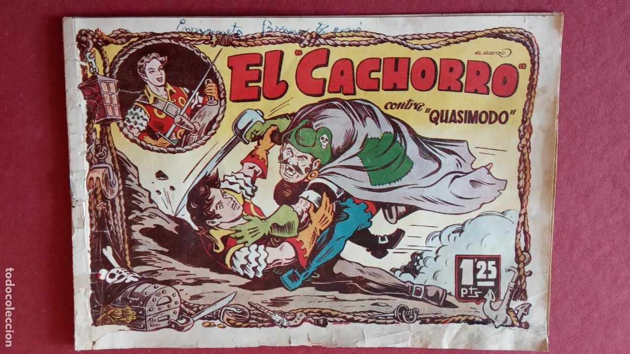 Tebeos: EL CACHORRO ORIGINALES 1951 BRUGUERA - 97 TEBEOS, VER TODAS LAS IMÁGENES DE PORTADAS Y CONTRAS - Foto 44 - 235576300