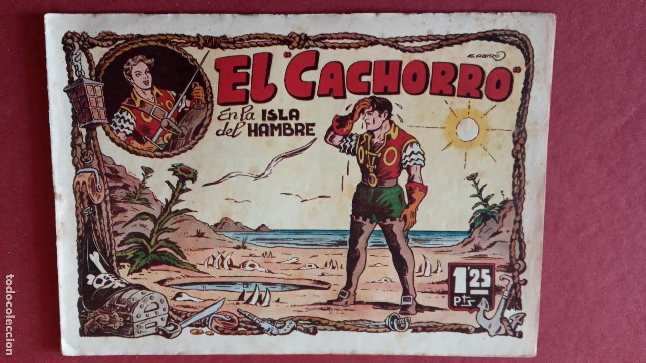 Tebeos: EL CACHORRO ORIGINALES 1951 BRUGUERA - 97 TEBEOS, VER TODAS LAS IMÁGENES DE PORTADAS Y CONTRAS - Foto 45 - 235576300