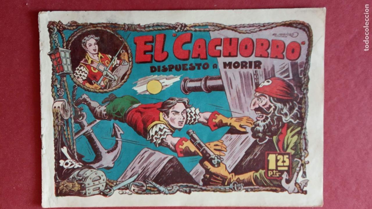 Tebeos: EL CACHORRO ORIGINALES 1951 BRUGUERA - 97 TEBEOS, VER TODAS LAS IMÁGENES DE PORTADAS Y CONTRAS - Foto 46 - 235576300