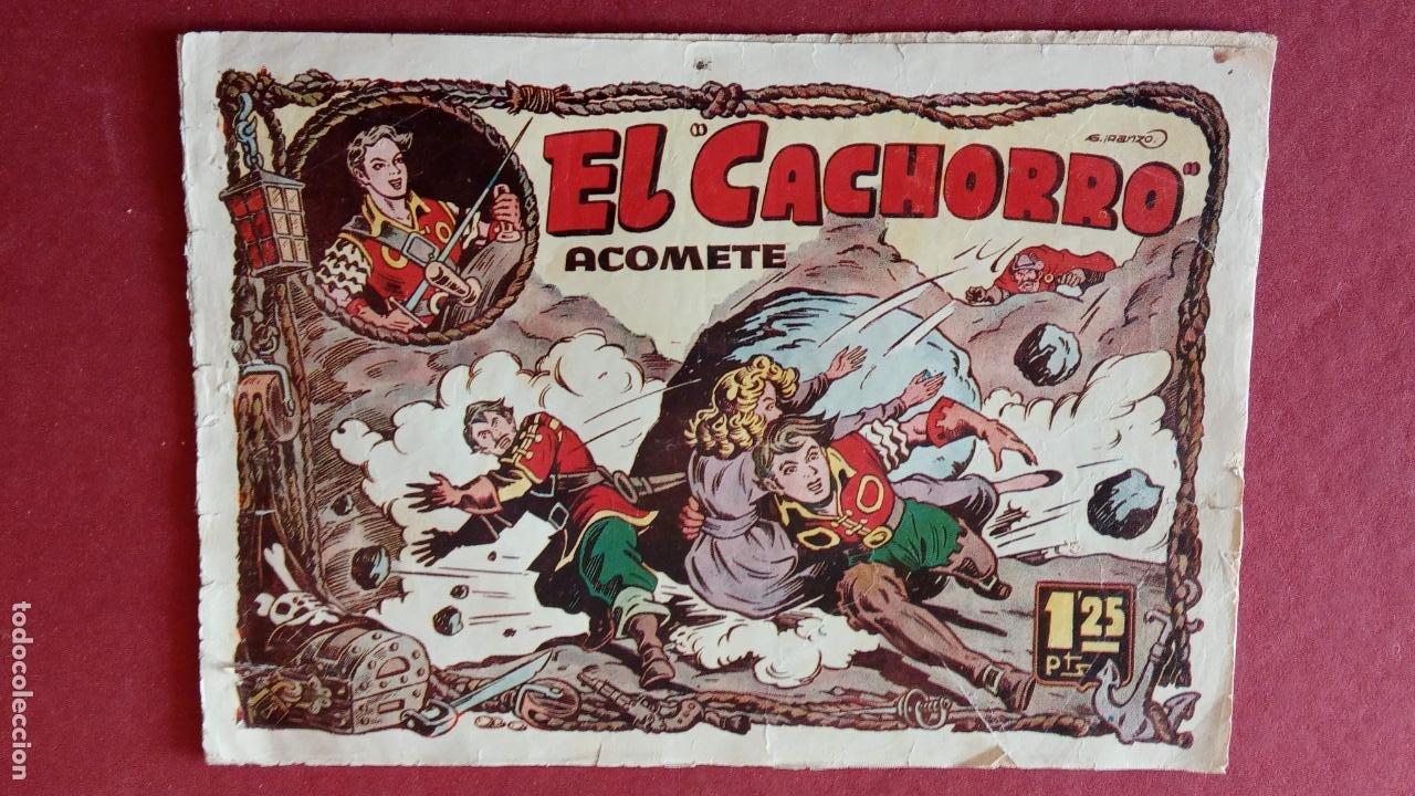Tebeos: EL CACHORRO ORIGINALES 1951 BRUGUERA - 97 TEBEOS, VER TODAS LAS IMÁGENES DE PORTADAS Y CONTRAS - Foto 47 - 235576300