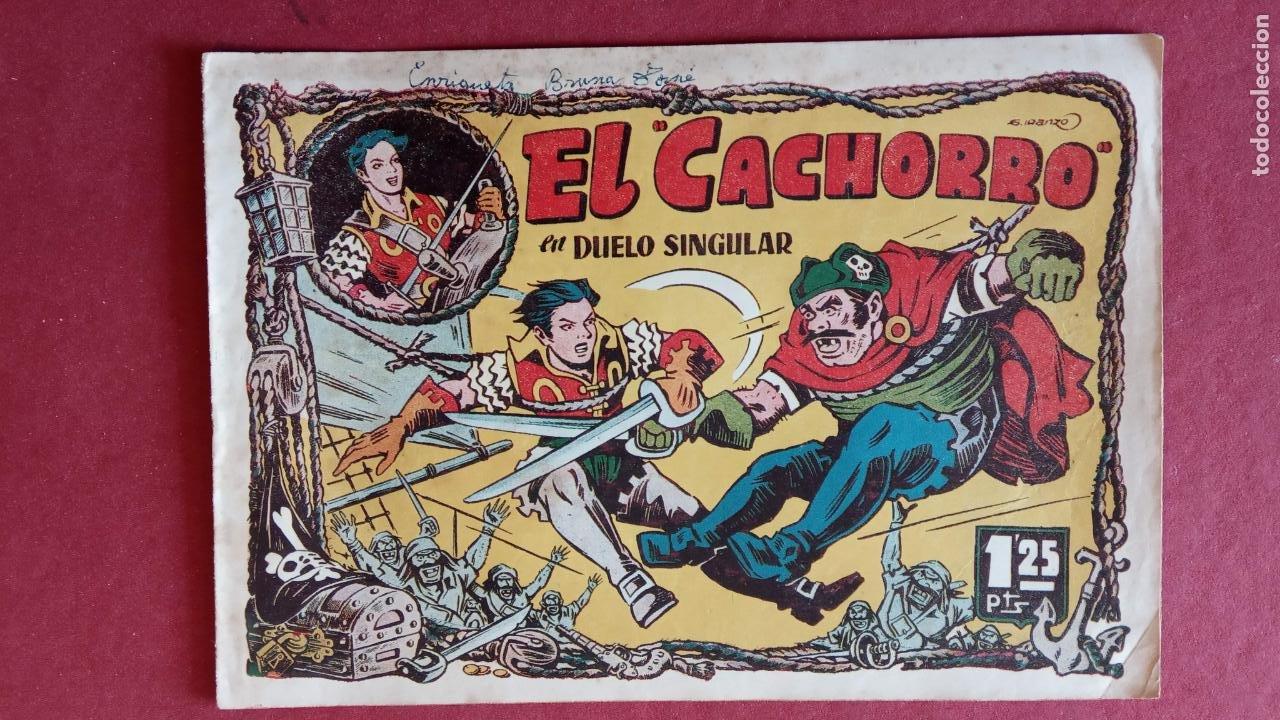 Tebeos: EL CACHORRO ORIGINALES 1951 BRUGUERA - 97 TEBEOS, VER TODAS LAS IMÁGENES DE PORTADAS Y CONTRAS - Foto 48 - 235576300