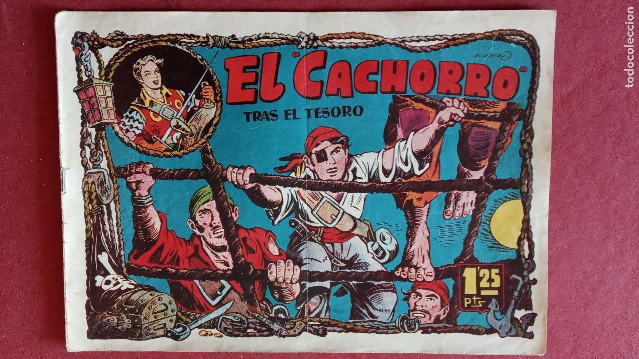 Tebeos: EL CACHORRO ORIGINALES 1951 BRUGUERA - 97 TEBEOS, VER TODAS LAS IMÁGENES DE PORTADAS Y CONTRAS - Foto 49 - 235576300