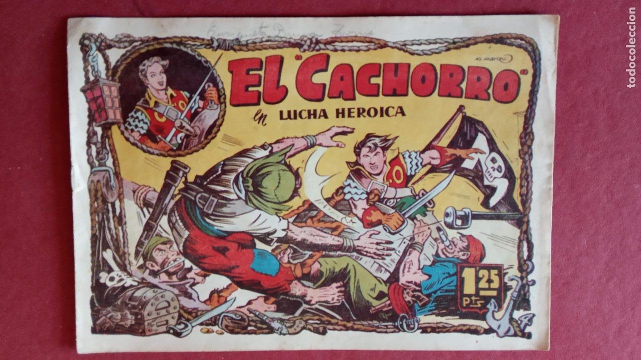 Tebeos: EL CACHORRO ORIGINALES 1951 BRUGUERA - 97 TEBEOS, VER TODAS LAS IMÁGENES DE PORTADAS Y CONTRAS - Foto 50 - 235576300