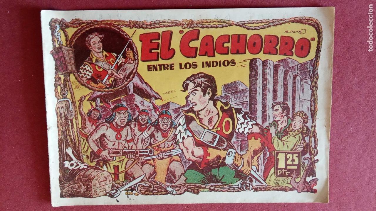 Tebeos: EL CACHORRO ORIGINALES 1951 BRUGUERA - 97 TEBEOS, VER TODAS LAS IMÁGENES DE PORTADAS Y CONTRAS - Foto 51 - 235576300