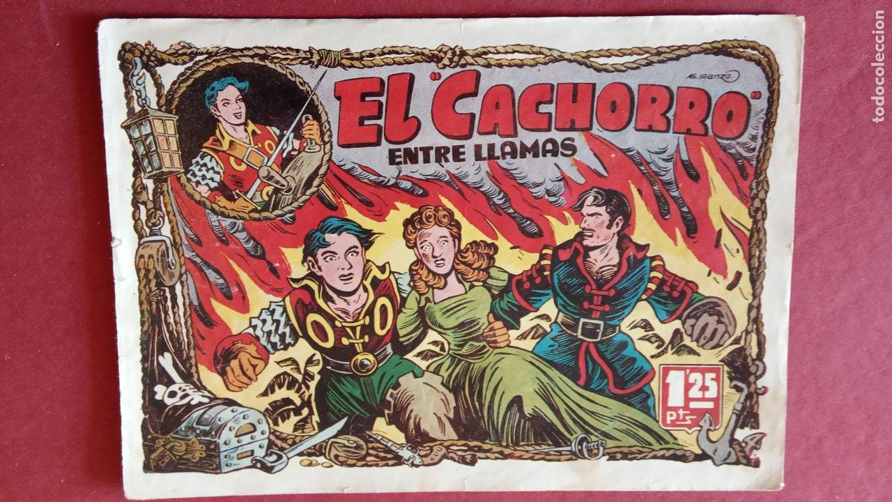 Tebeos: EL CACHORRO ORIGINALES 1951 BRUGUERA - 97 TEBEOS, VER TODAS LAS IMÁGENES DE PORTADAS Y CONTRAS - Foto 52 - 235576300