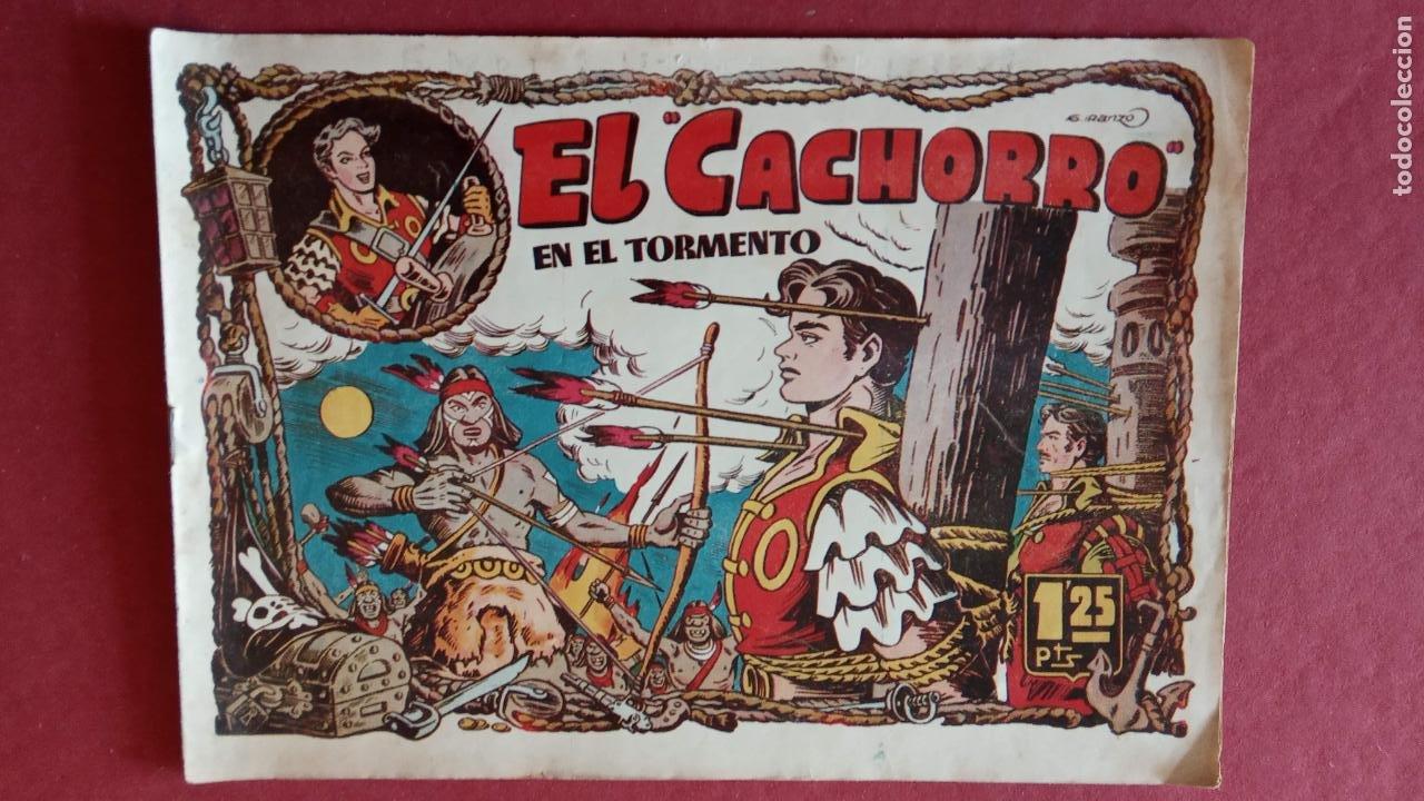 Tebeos: EL CACHORRO ORIGINALES 1951 BRUGUERA - 97 TEBEOS, VER TODAS LAS IMÁGENES DE PORTADAS Y CONTRAS - Foto 53 - 235576300