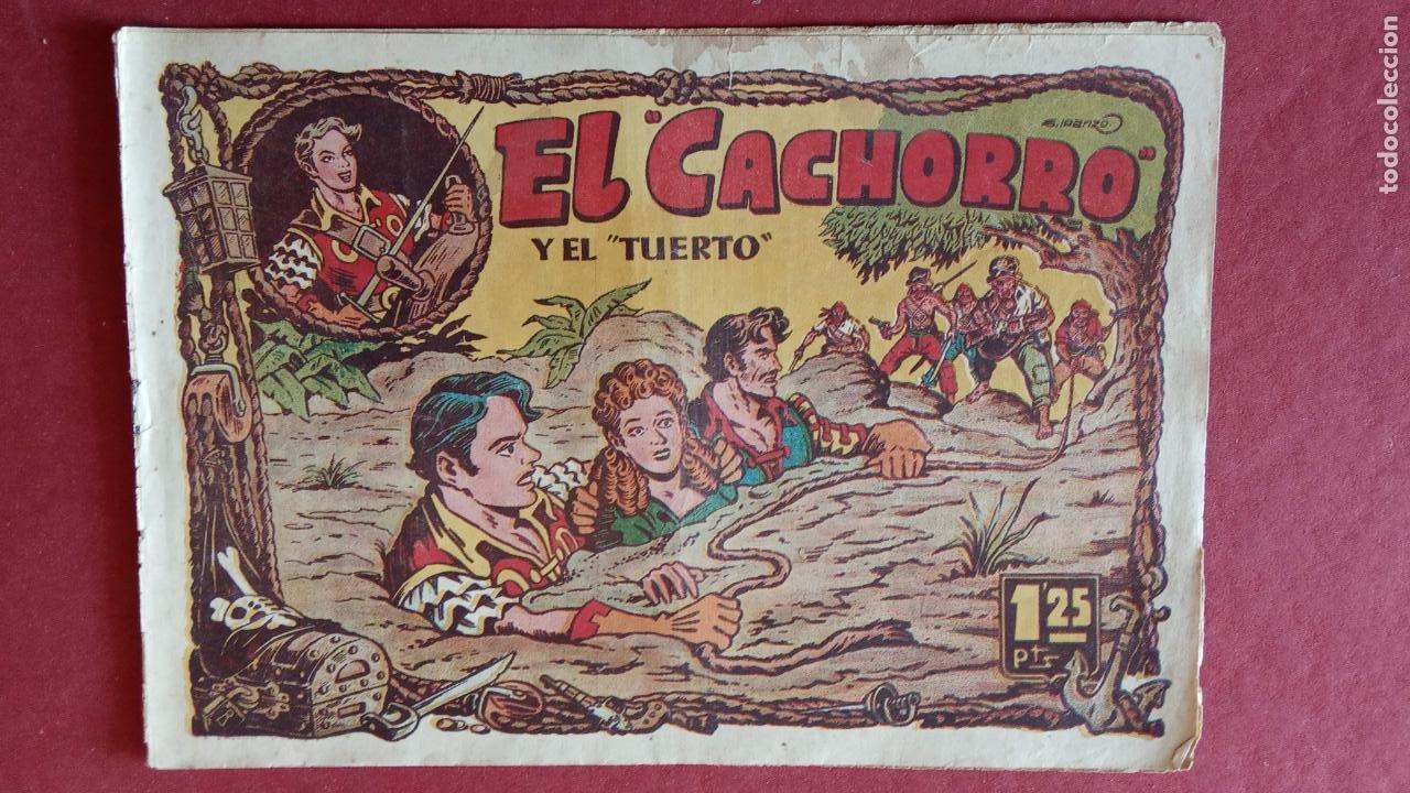 Tebeos: EL CACHORRO ORIGINALES 1951 BRUGUERA - 97 TEBEOS, VER TODAS LAS IMÁGENES DE PORTADAS Y CONTRAS - Foto 54 - 235576300