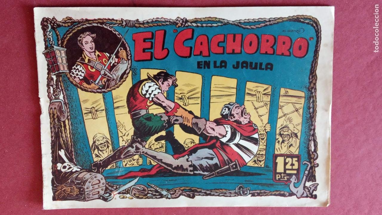 Tebeos: EL CACHORRO ORIGINALES 1951 BRUGUERA - 97 TEBEOS, VER TODAS LAS IMÁGENES DE PORTADAS Y CONTRAS - Foto 55 - 235576300