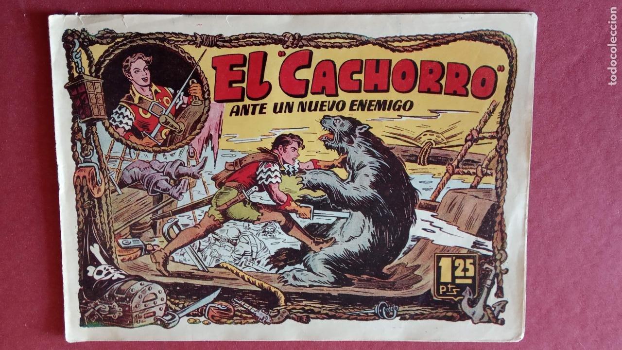 Tebeos: EL CACHORRO ORIGINALES 1951 BRUGUERA - 97 TEBEOS, VER TODAS LAS IMÁGENES DE PORTADAS Y CONTRAS - Foto 56 - 235576300