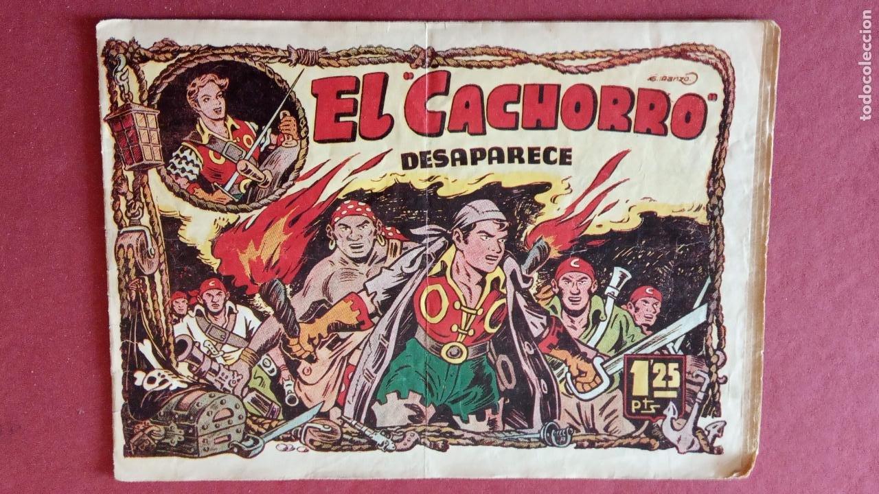 Tebeos: EL CACHORRO ORIGINALES 1951 BRUGUERA - 97 TEBEOS, VER TODAS LAS IMÁGENES DE PORTADAS Y CONTRAS - Foto 57 - 235576300