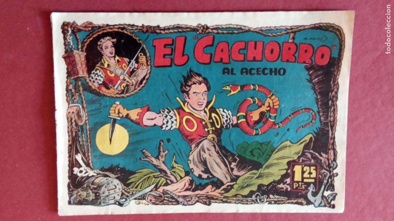 Tebeos: EL CACHORRO ORIGINALES 1951 BRUGUERA - 97 TEBEOS, VER TODAS LAS IMÁGENES DE PORTADAS Y CONTRAS - Foto 58 - 235576300