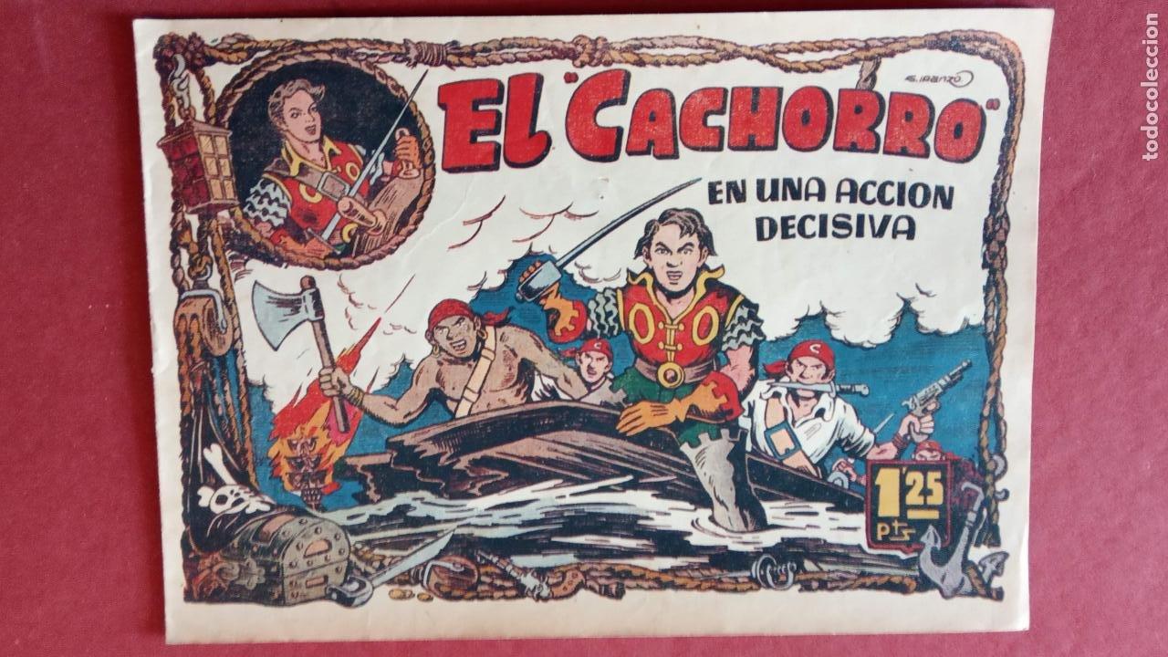 Tebeos: EL CACHORRO ORIGINALES 1951 BRUGUERA - 97 TEBEOS, VER TODAS LAS IMÁGENES DE PORTADAS Y CONTRAS - Foto 59 - 235576300