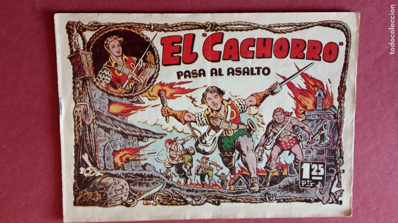 Tebeos: EL CACHORRO ORIGINALES 1951 BRUGUERA - 97 TEBEOS, VER TODAS LAS IMÁGENES DE PORTADAS Y CONTRAS - Foto 60 - 235576300