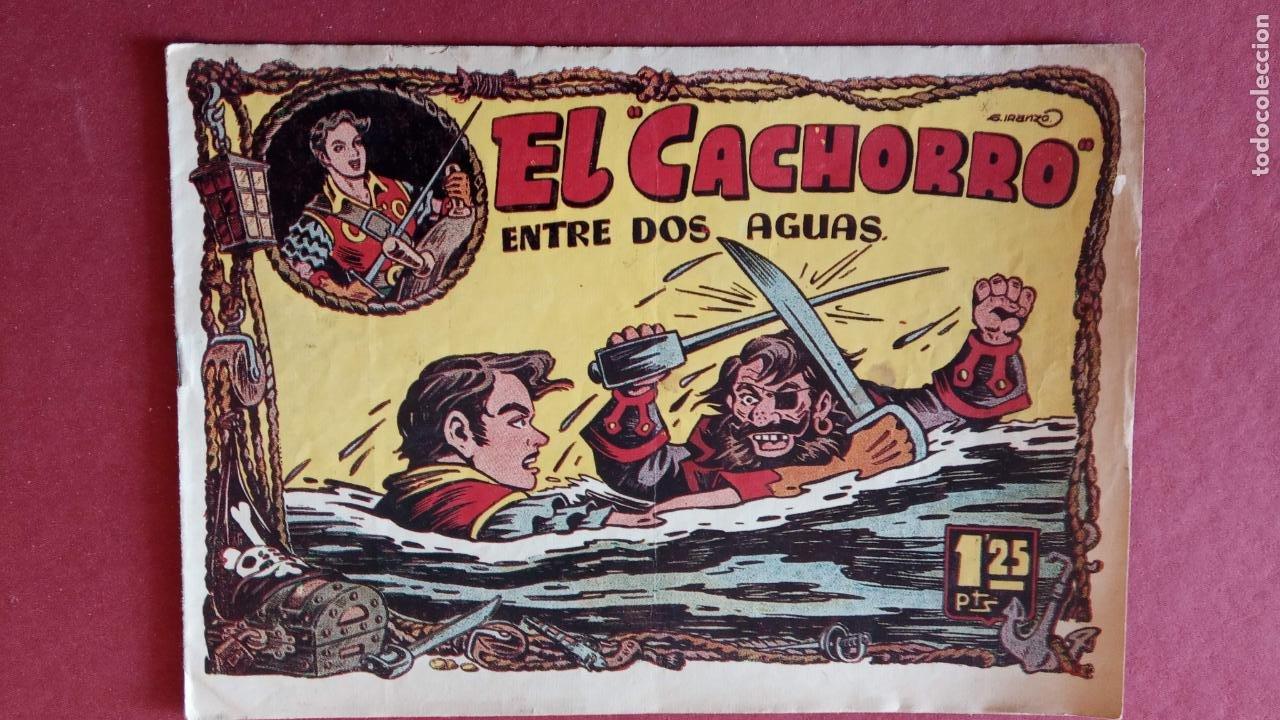 Tebeos: EL CACHORRO ORIGINALES 1951 BRUGUERA - 97 TEBEOS, VER TODAS LAS IMÁGENES DE PORTADAS Y CONTRAS - Foto 61 - 235576300