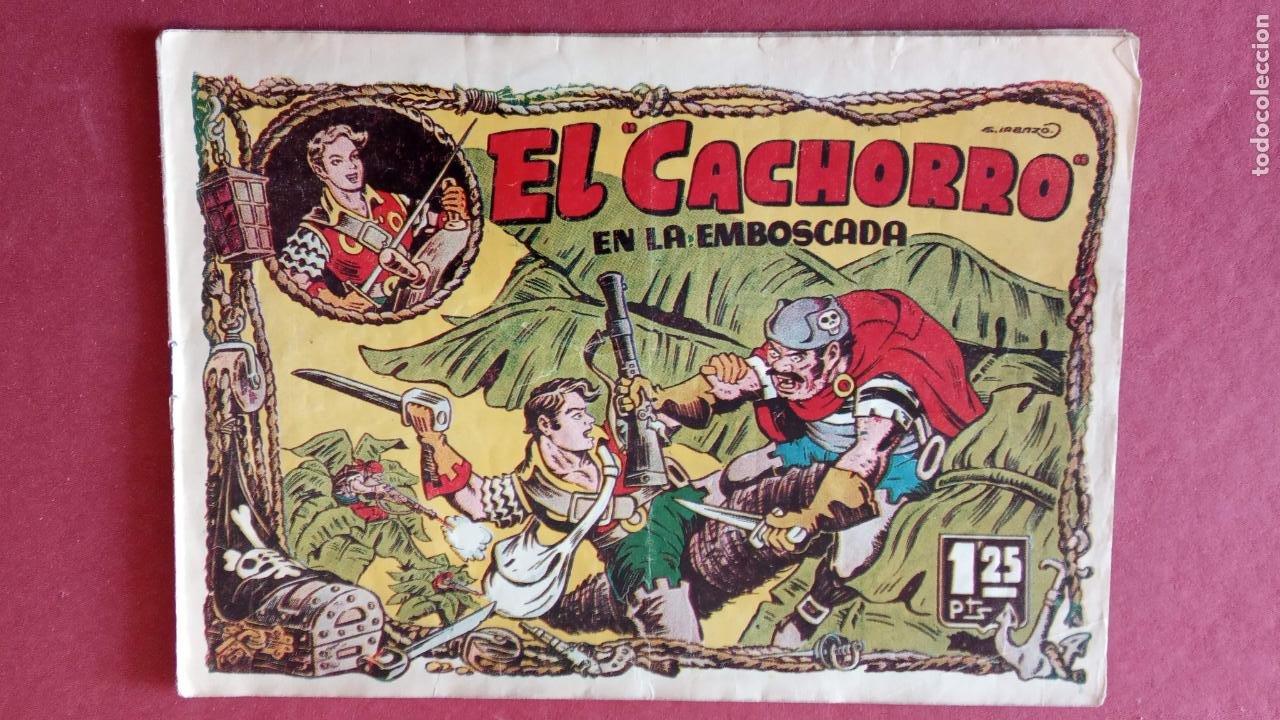 Tebeos: EL CACHORRO ORIGINALES 1951 BRUGUERA - 97 TEBEOS, VER TODAS LAS IMÁGENES DE PORTADAS Y CONTRAS - Foto 62 - 235576300