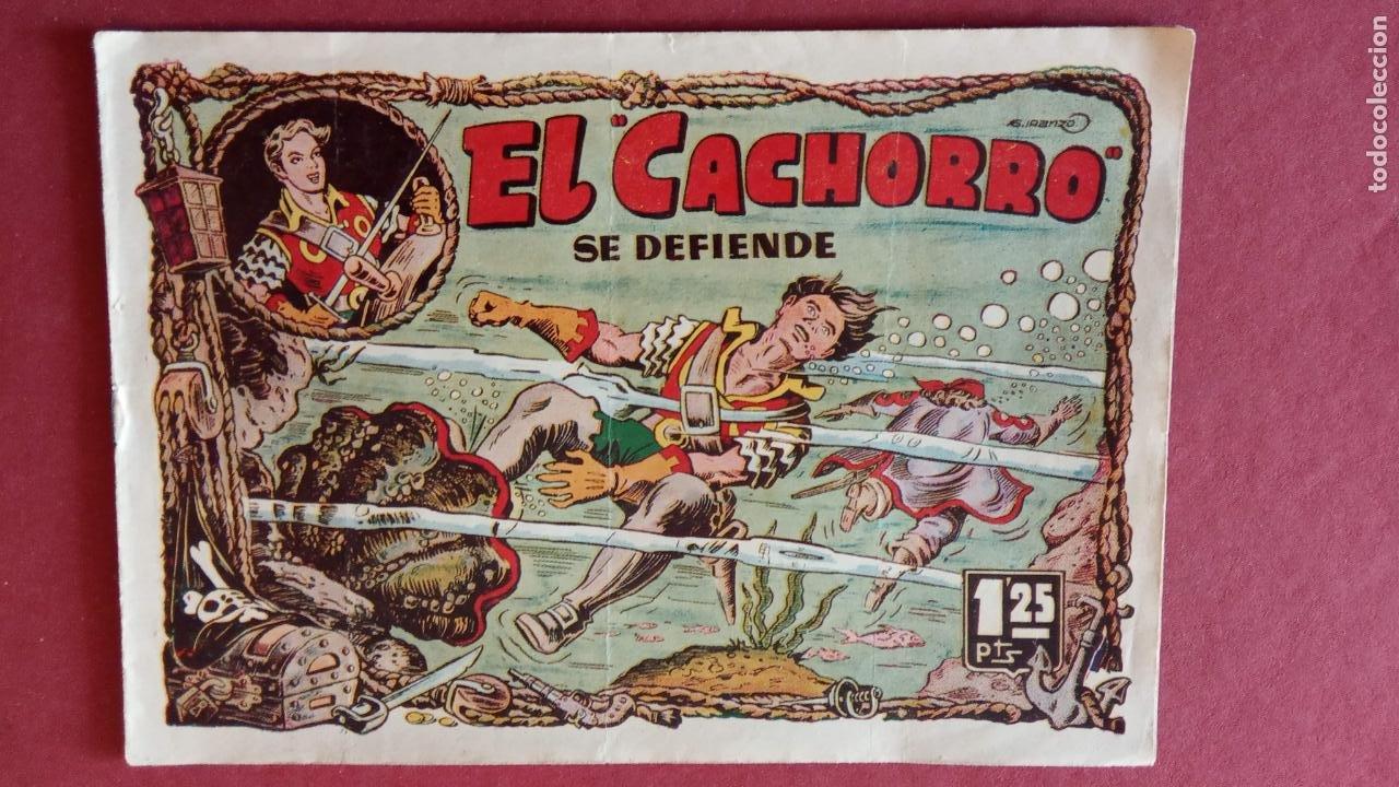 Tebeos: EL CACHORRO ORIGINALES 1951 BRUGUERA - 97 TEBEOS, VER TODAS LAS IMÁGENES DE PORTADAS Y CONTRAS - Foto 63 - 235576300