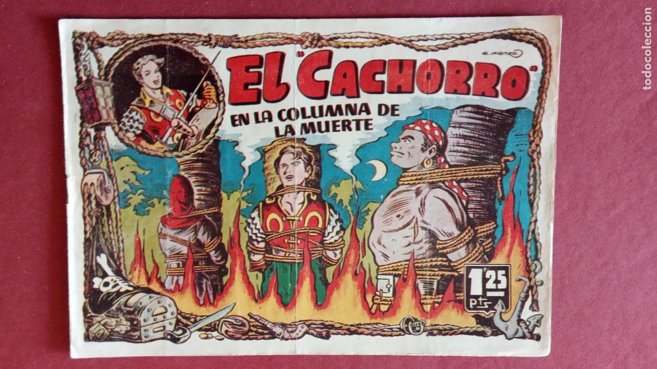 Tebeos: EL CACHORRO ORIGINALES 1951 BRUGUERA - 97 TEBEOS, VER TODAS LAS IMÁGENES DE PORTADAS Y CONTRAS - Foto 64 - 235576300