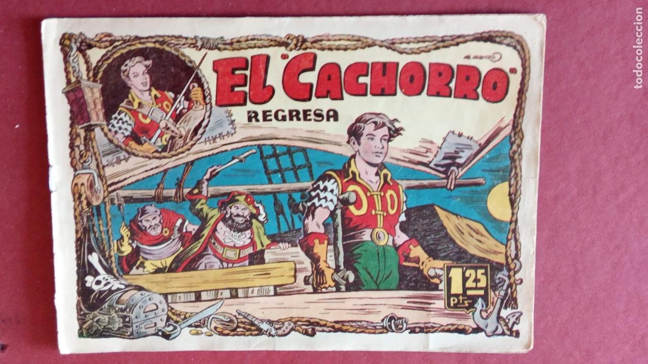 Tebeos: EL CACHORRO ORIGINALES 1951 BRUGUERA - 97 TEBEOS, VER TODAS LAS IMÁGENES DE PORTADAS Y CONTRAS - Foto 65 - 235576300