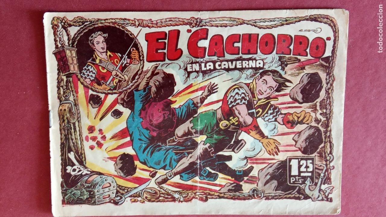Tebeos: EL CACHORRO ORIGINALES 1951 BRUGUERA - 97 TEBEOS, VER TODAS LAS IMÁGENES DE PORTADAS Y CONTRAS - Foto 66 - 235576300
