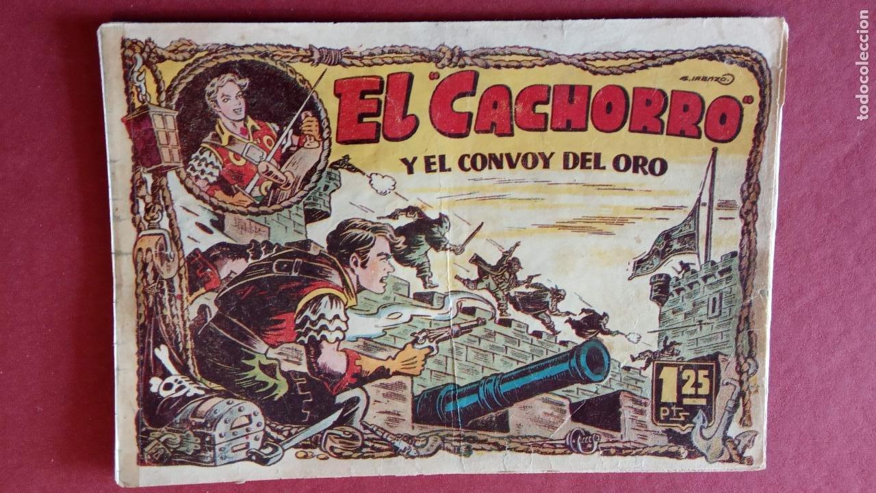 Tebeos: EL CACHORRO ORIGINALES 1951 BRUGUERA - 97 TEBEOS, VER TODAS LAS IMÁGENES DE PORTADAS Y CONTRAS - Foto 67 - 235576300