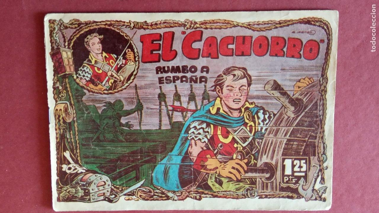 Tebeos: EL CACHORRO ORIGINALES 1951 BRUGUERA - 97 TEBEOS, VER TODAS LAS IMÁGENES DE PORTADAS Y CONTRAS - Foto 68 - 235576300
