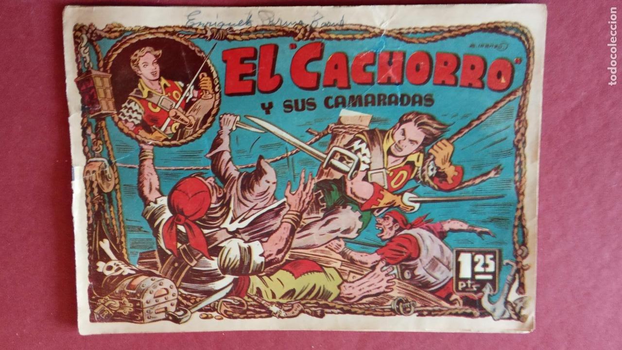 Tebeos: EL CACHORRO ORIGINALES 1951 BRUGUERA - 97 TEBEOS, VER TODAS LAS IMÁGENES DE PORTADAS Y CONTRAS - Foto 69 - 235576300