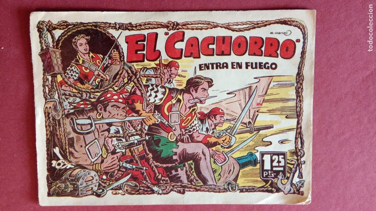 Tebeos: EL CACHORRO ORIGINALES 1951 BRUGUERA - 97 TEBEOS, VER TODAS LAS IMÁGENES DE PORTADAS Y CONTRAS - Foto 70 - 235576300