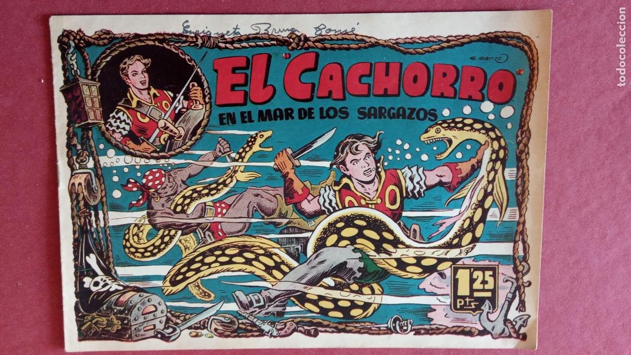 Tebeos: EL CACHORRO ORIGINALES 1951 BRUGUERA - 97 TEBEOS, VER TODAS LAS IMÁGENES DE PORTADAS Y CONTRAS - Foto 71 - 235576300