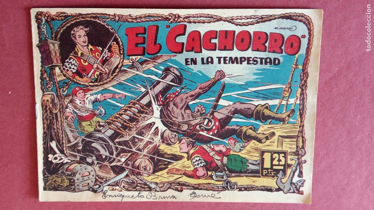 Tebeos: EL CACHORRO ORIGINALES 1951 BRUGUERA - 97 TEBEOS, VER TODAS LAS IMÁGENES DE PORTADAS Y CONTRAS - Foto 72 - 235576300