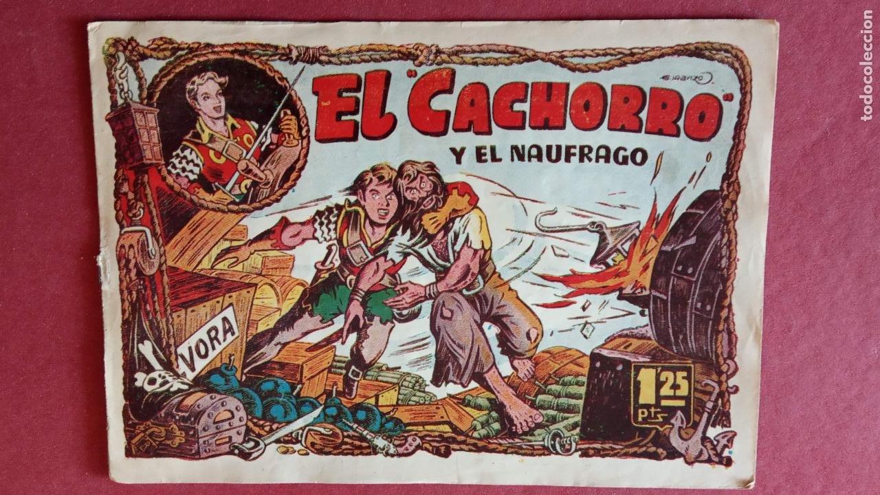 Tebeos: EL CACHORRO ORIGINALES 1951 BRUGUERA - 97 TEBEOS, VER TODAS LAS IMÁGENES DE PORTADAS Y CONTRAS - Foto 73 - 235576300
