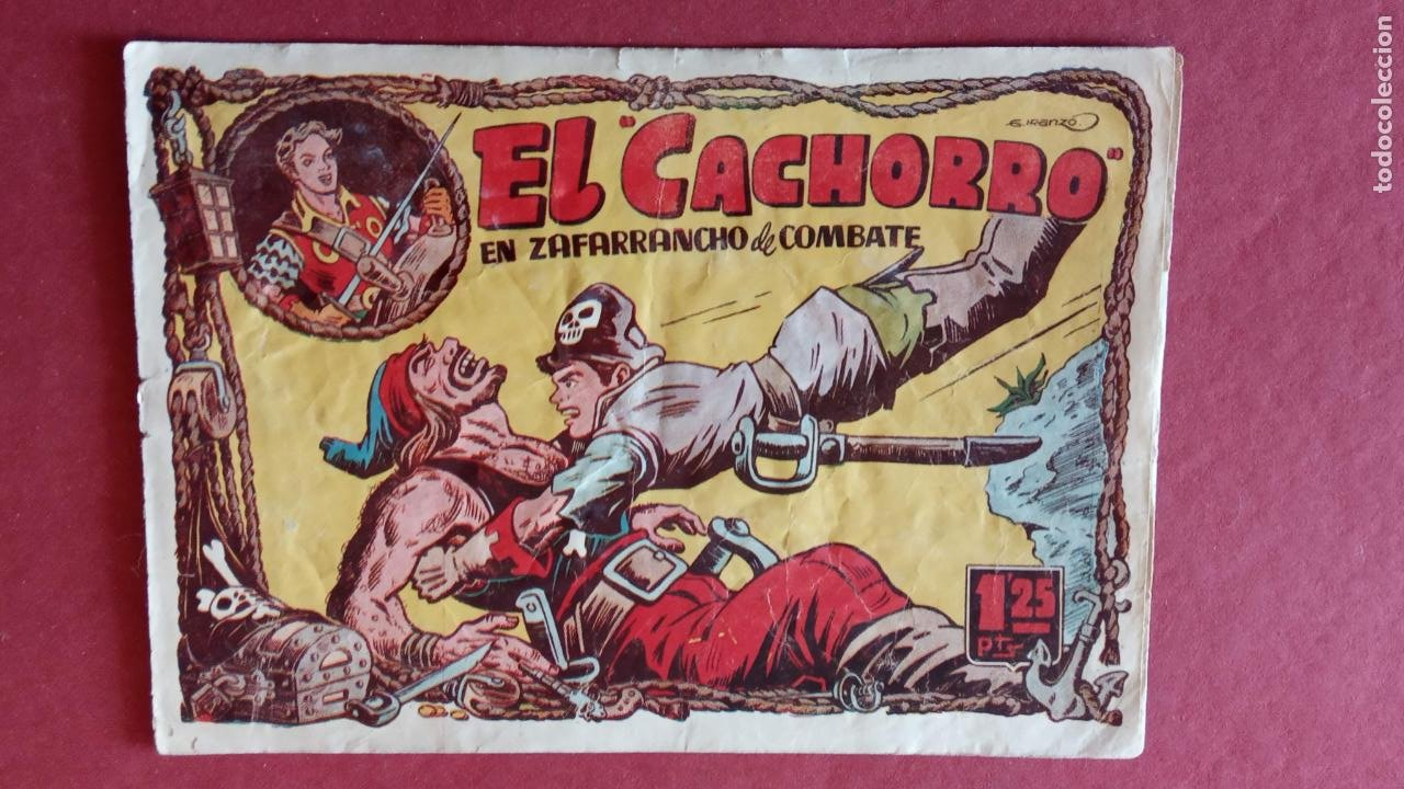 Tebeos: EL CACHORRO ORIGINALES 1951 BRUGUERA - 97 TEBEOS, VER TODAS LAS IMÁGENES DE PORTADAS Y CONTRAS - Foto 74 - 235576300