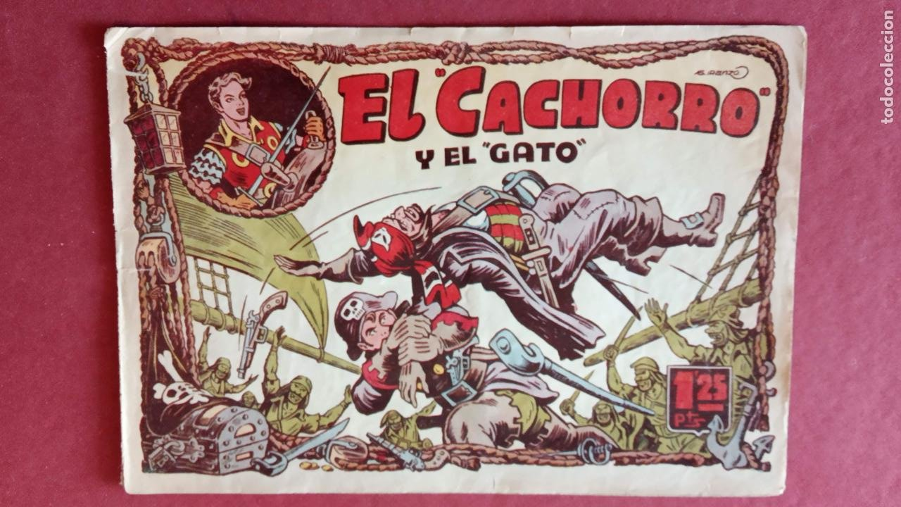Tebeos: EL CACHORRO ORIGINALES 1951 BRUGUERA - 97 TEBEOS, VER TODAS LAS IMÁGENES DE PORTADAS Y CONTRAS - Foto 75 - 235576300