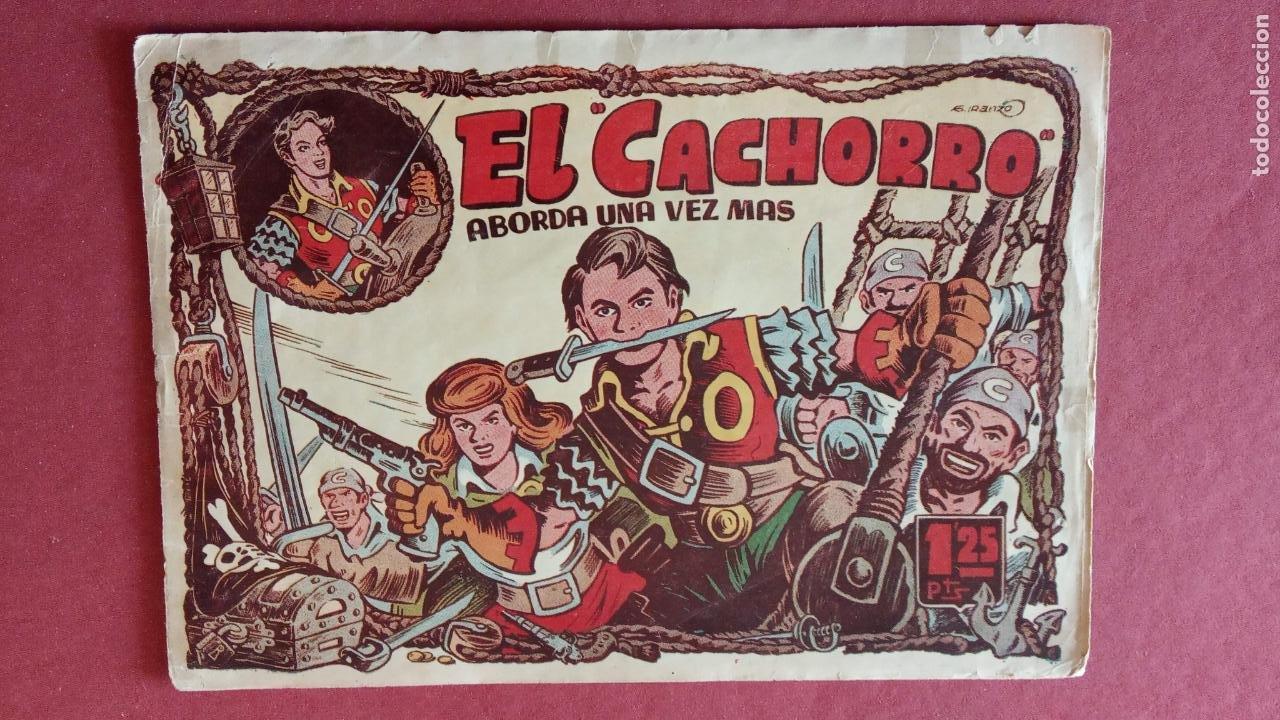 Tebeos: EL CACHORRO ORIGINALES 1951 BRUGUERA - 97 TEBEOS, VER TODAS LAS IMÁGENES DE PORTADAS Y CONTRAS - Foto 77 - 235576300