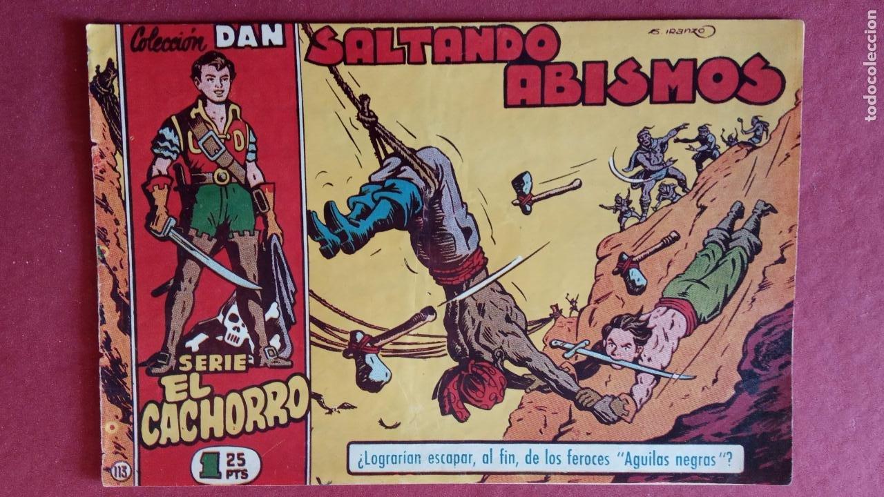 Tebeos: EL CACHORRO ORIGINALES 1951 BRUGUERA - 97 TEBEOS, VER TODAS LAS IMÁGENES DE PORTADAS Y CONTRAS - Foto 81 - 235576300