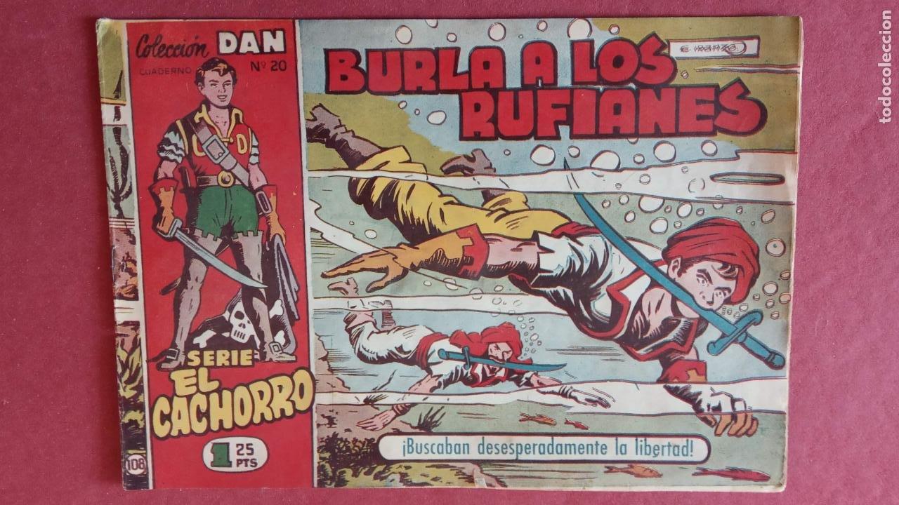 Tebeos: EL CACHORRO ORIGINALES 1951 BRUGUERA - 97 TEBEOS, VER TODAS LAS IMÁGENES DE PORTADAS Y CONTRAS - Foto 84 - 235576300