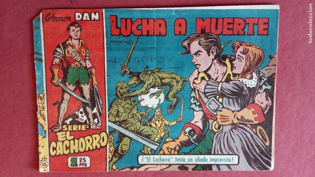 Tebeos: EL CACHORRO ORIGINALES 1951 BRUGUERA - 97 TEBEOS, VER TODAS LAS IMÁGENES DE PORTADAS Y CONTRAS - Foto 91 - 235576300