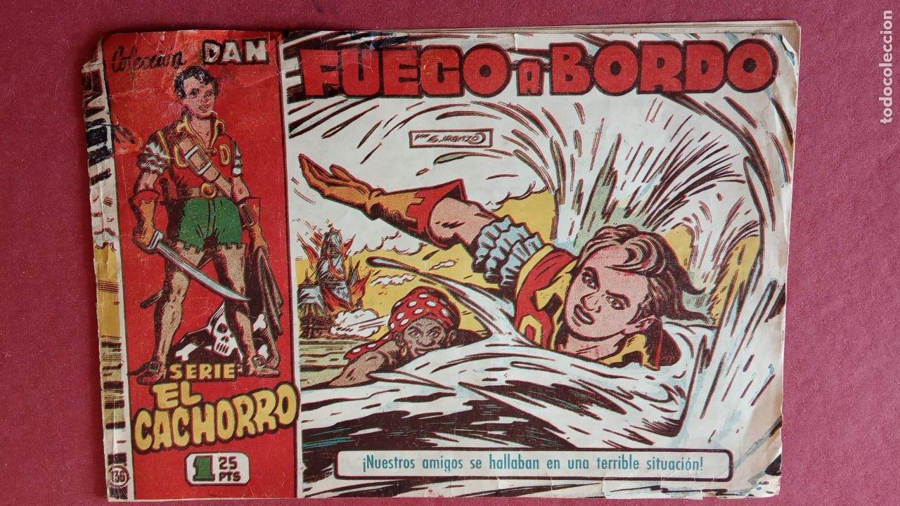 Tebeos: EL CACHORRO ORIGINALES 1951 BRUGUERA - 97 TEBEOS, VER TODAS LAS IMÁGENES DE PORTADAS Y CONTRAS - Foto 95 - 235576300