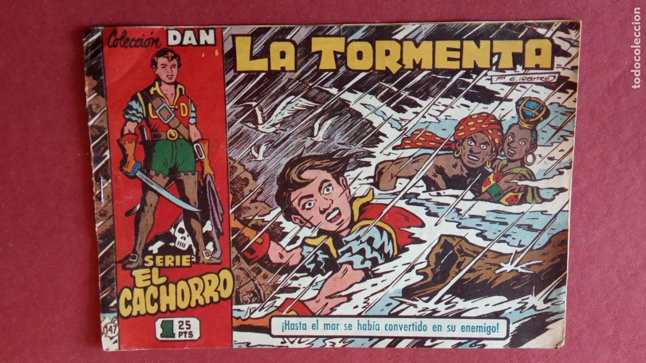 Tebeos: EL CACHORRO ORIGINALES 1951 BRUGUERA - 97 TEBEOS, VER TODAS LAS IMÁGENES DE PORTADAS Y CONTRAS - Foto 100 - 235576300
