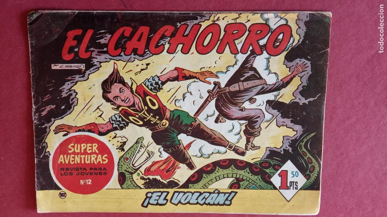 Tebeos: EL CACHORRO ORIGINALES 1951 BRUGUERA - 97 TEBEOS, VER TODAS LAS IMÁGENES DE PORTADAS Y CONTRAS - Foto 102 - 235576300