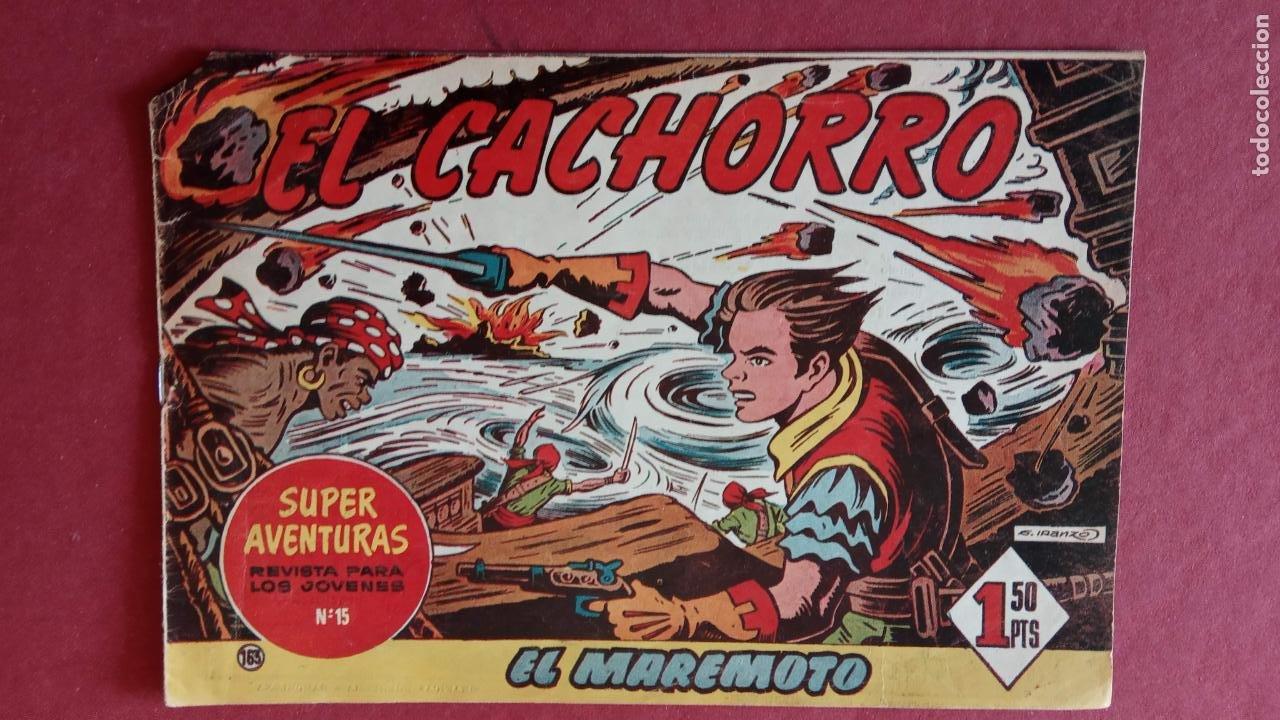 Tebeos: EL CACHORRO ORIGINALES 1951 BRUGUERA - 97 TEBEOS, VER TODAS LAS IMÁGENES DE PORTADAS Y CONTRAS - Foto 104 - 235576300