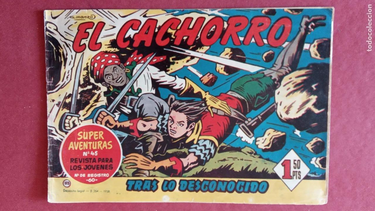 Tebeos: EL CACHORRO ORIGINALES 1951 BRUGUERA - 97 TEBEOS, VER TODAS LAS IMÁGENES DE PORTADAS Y CONTRAS - Foto 105 - 235576300